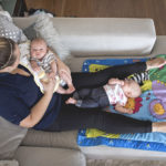 Postpartum doulas support families with newborns